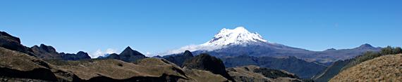 Cotopaxi vulkaan, Ecuador