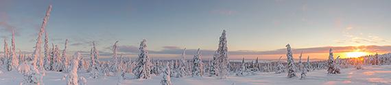 Winterwonderland, Finland vakantie