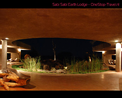 Sabi Sabi Earth Lodge, Zuid-Afrika Wallpaper afbeelding